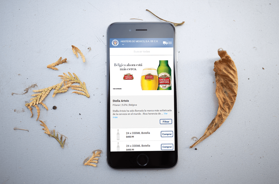 Anheuser-Busch InBev, e-commerce website production