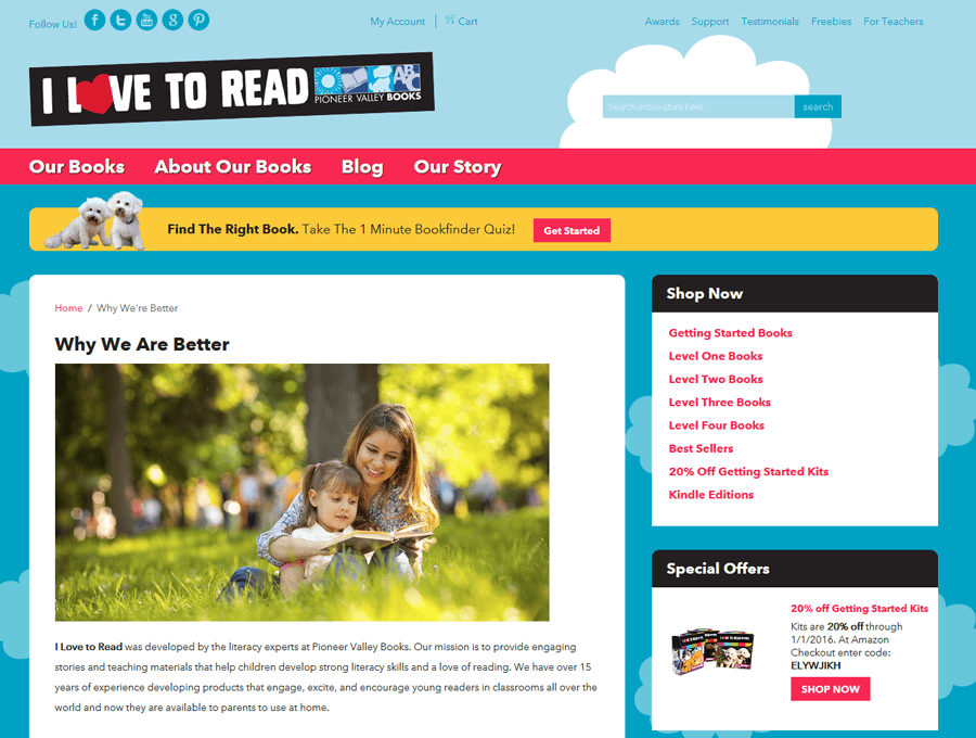 Pionner Valley Books, Magento Web Services MA