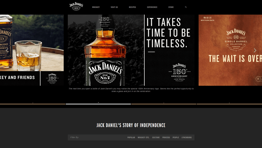 Jack Daniel's, Enterprise Drupal development