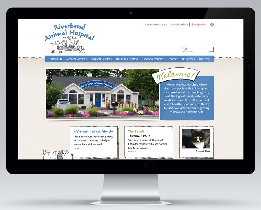 Riverbend Animal Hospital, Enterprise Drupal website
