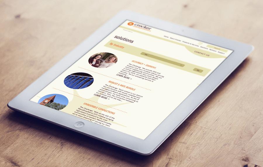 Crocker Communications, MA Enterprise Website Services