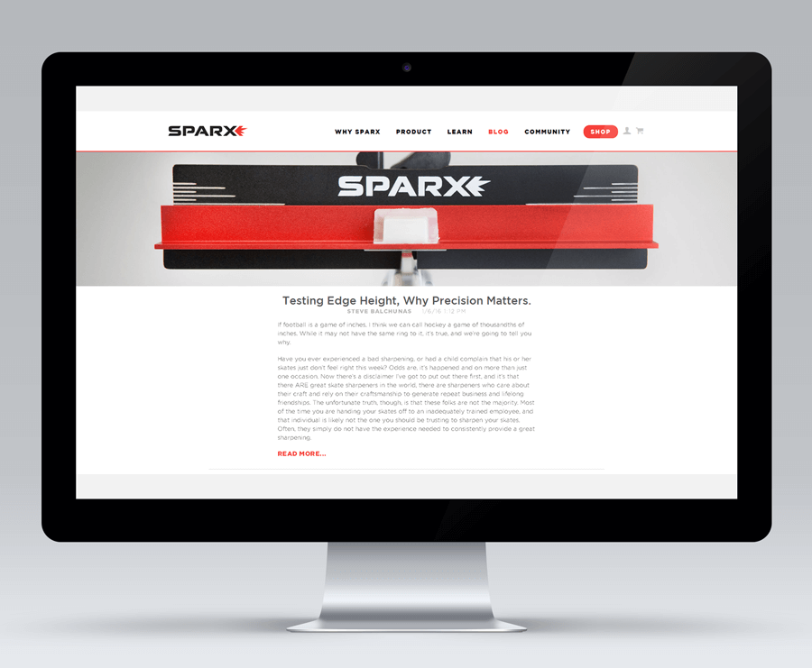 Sparx Hockey (Velasa Sports), MA enterprise magento services