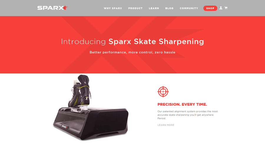 Sparx Hockey (Velasa Sports), Boston enterprise magento services