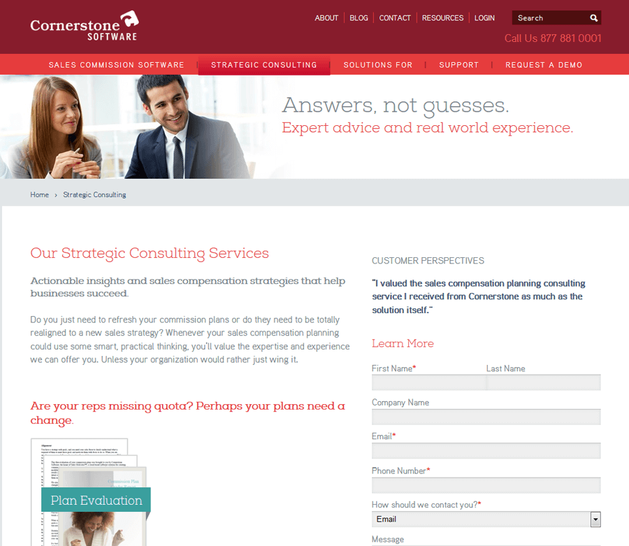 Cornerstone Software, Drupal Website Production Boston