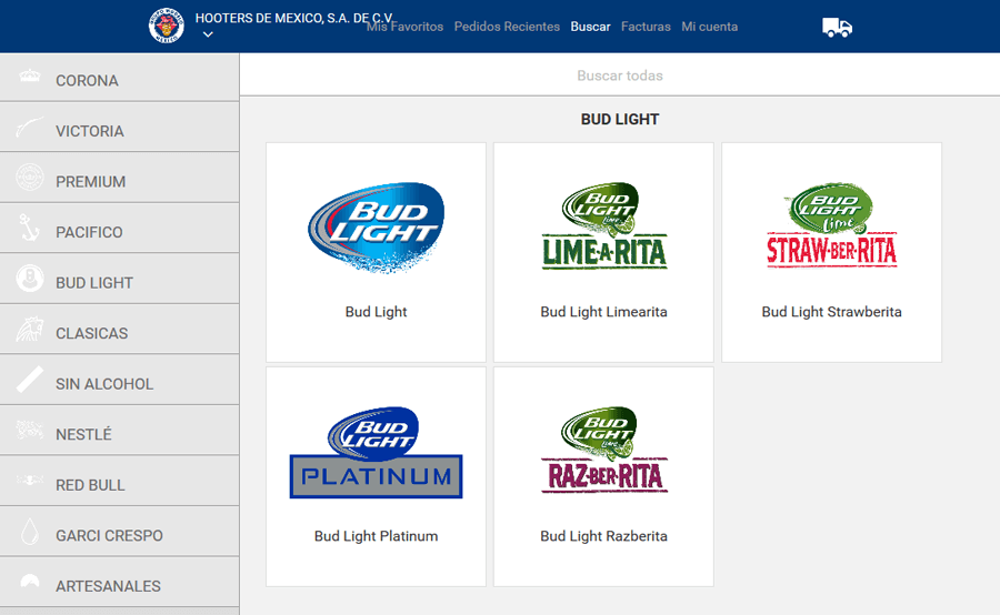 Anheuser-Busch InBev, e-commerce web development MA