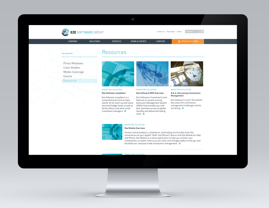 Eze Software, Responsive Drupal Site