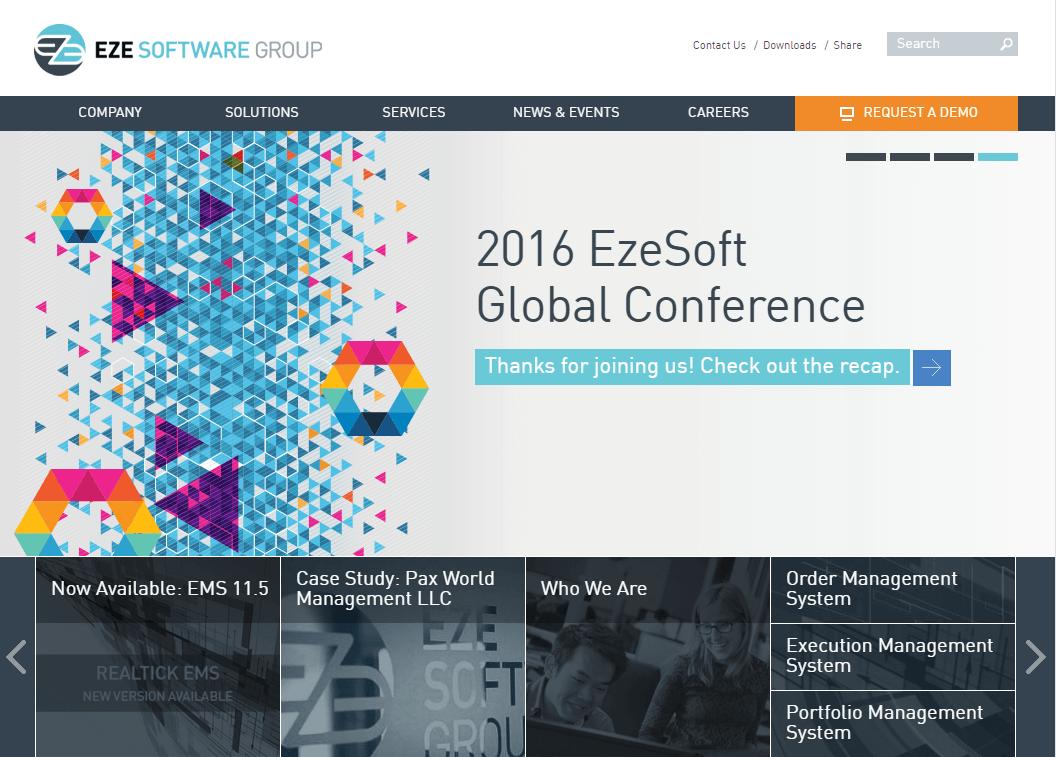 Eze Software, Responsive Drupal Website MA