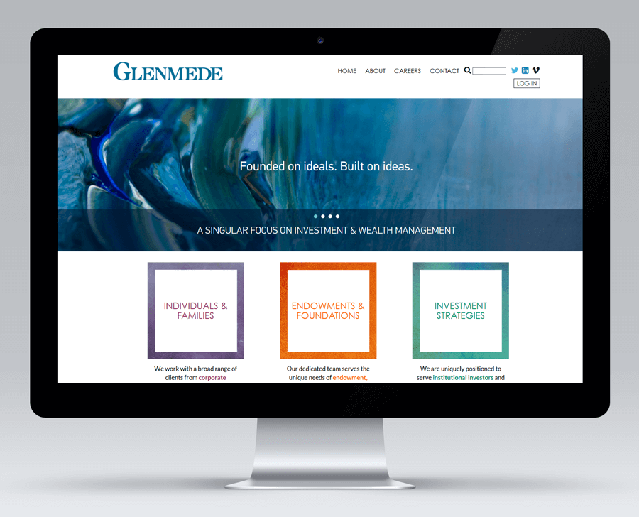Glendmede Trust Company, Drupal Website Production MA